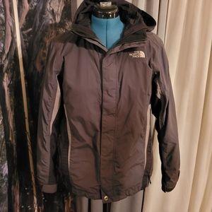 North Face XL grey coat